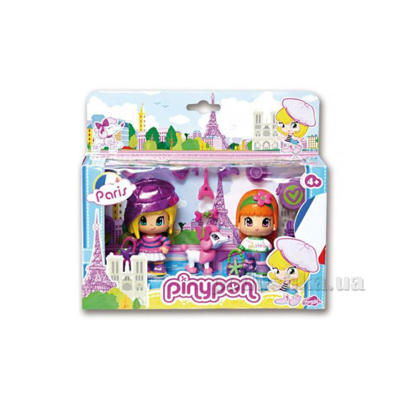 Игровой набор Вокруг света Пинипон Путешествие Париж Pinypon700010269-4