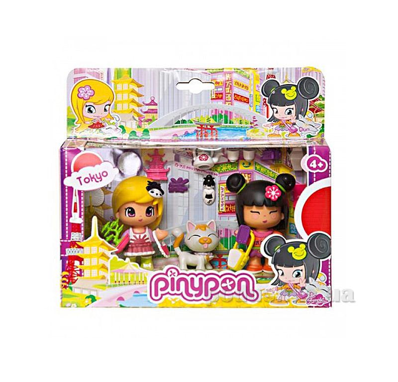 Игровой набор Вокруг света серия Пинипон-Путешествие Токио Pinypon 700010269-2