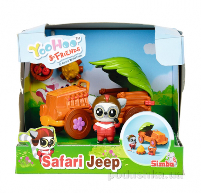 Игровой набор Юху Машинка с 1 фигуркой Simba 595 0590