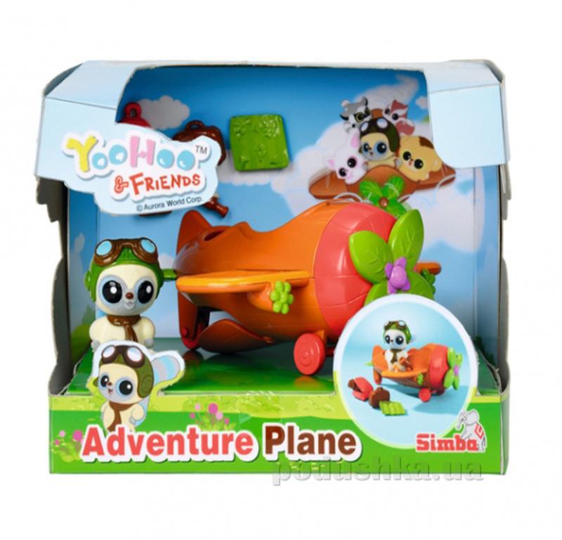 Игровой набор Юху Самолетик с 1 фигуркой Simba 595 0591