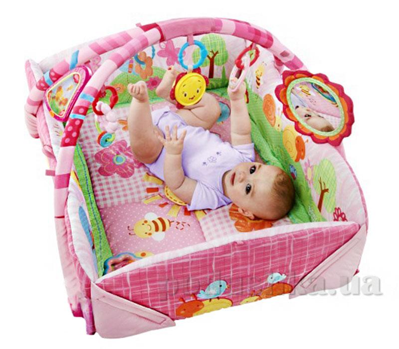 Игровой центр малыша Весёлый сад розовый Kids II