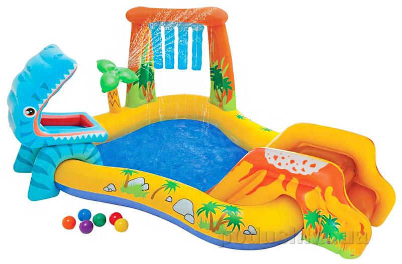 Игровой центр-бассейн Intex 57444