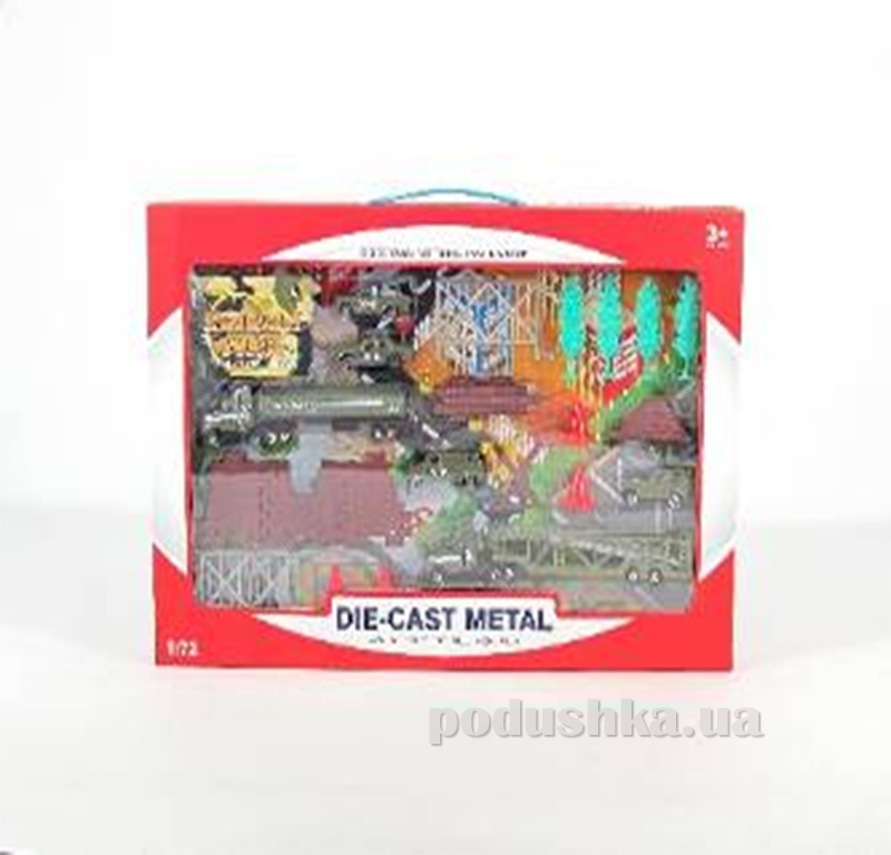 Игровой военный набор для мальчика Die-Cast Set 486727WF