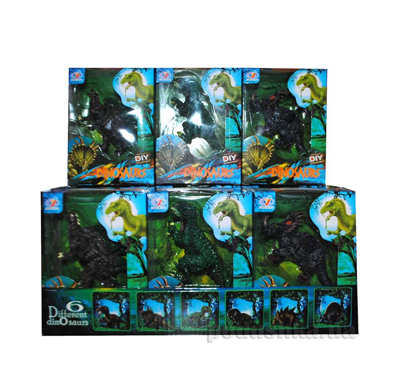 Игровые фигурки Динозавры Канцактив
