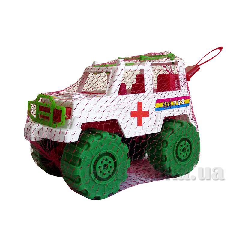 Игрушечный автомобиль Джип Скорая помощь Kinderway KW-05-503