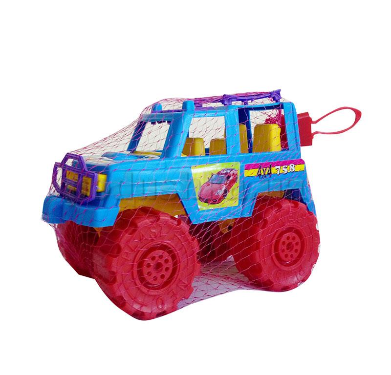 Игрушечный автомобиль Цветной Джип Kinderway KW-05-501