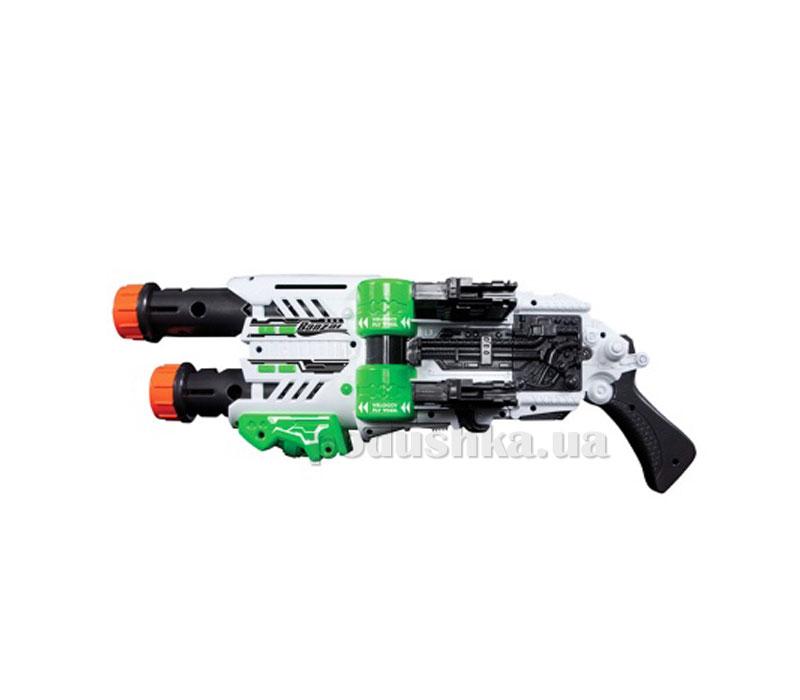 Игрушечный электро-механический бластер Мото Твин Фаер + 22 мягких дротика