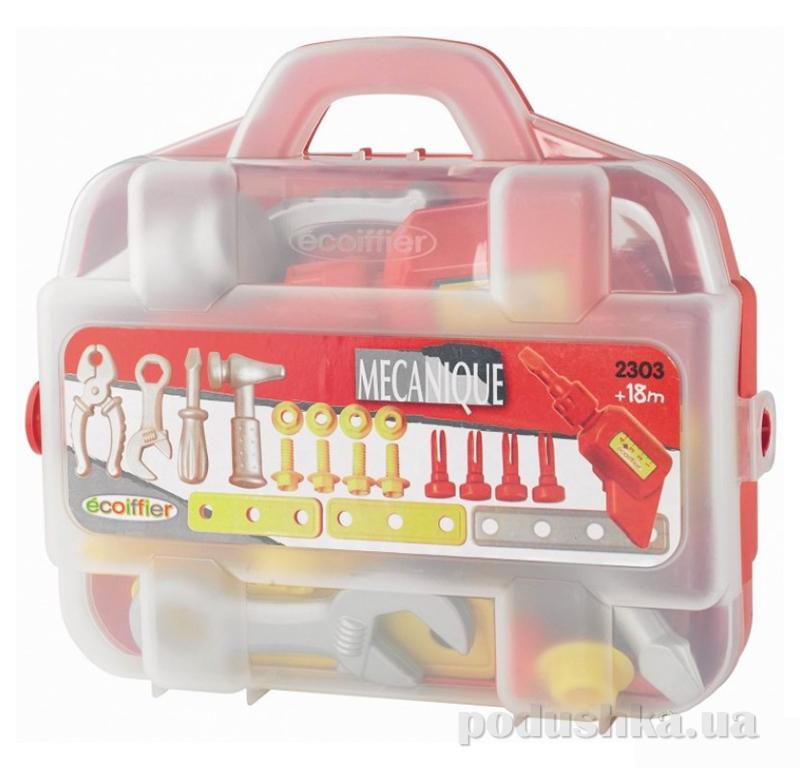 Игрушечный кейс с инструментами Ecoiffier 2303