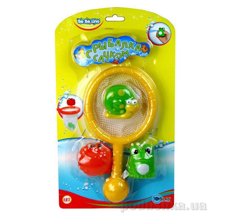 Игрушка для игр в воде Рыбалка с сачком BeBeLino
