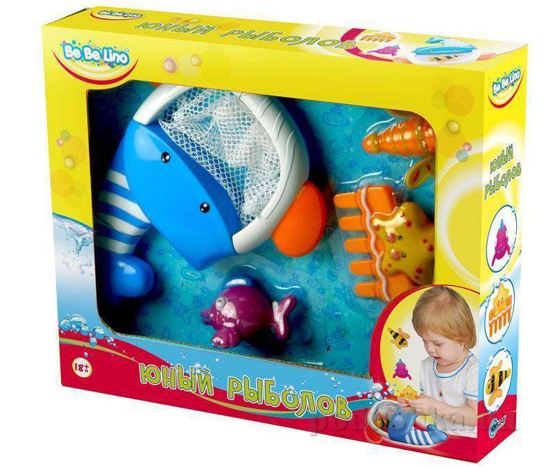 Игрушка для игр в воде Юный рыболов Bebelino 57019