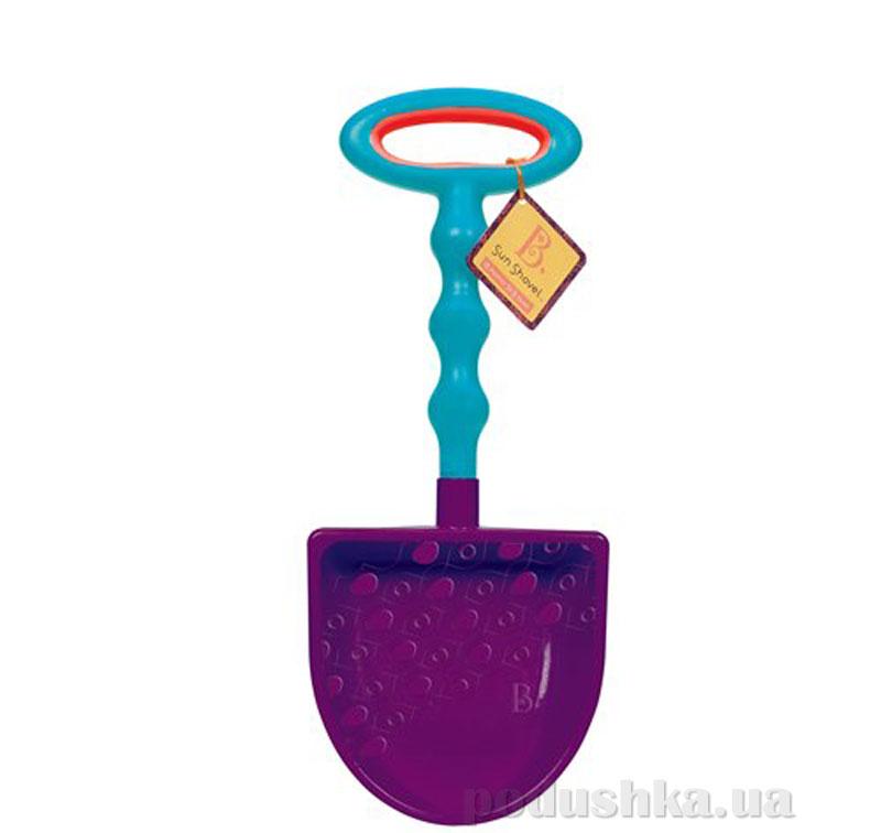 Игрушка для игры с песком большая лопатка цвет сливовый-морской Battat