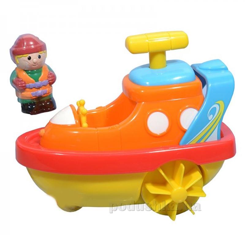 Игрушка для воды Hap-p-Kid Little Learner Транспорт Катер 3502