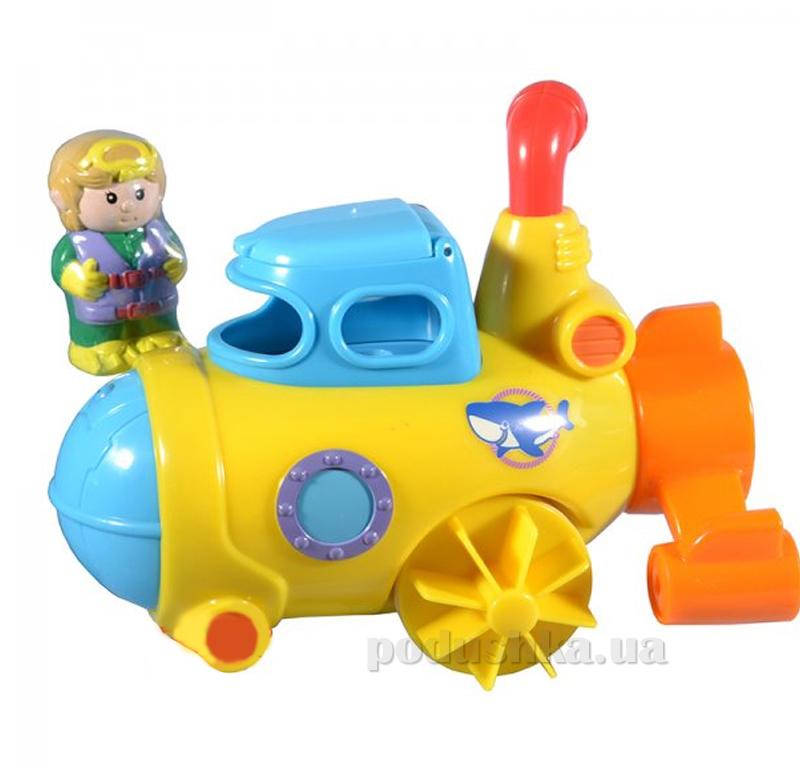 Игрушка для воды Hap-p-Kid Little Learner Транспорт Подводная лодка 3503