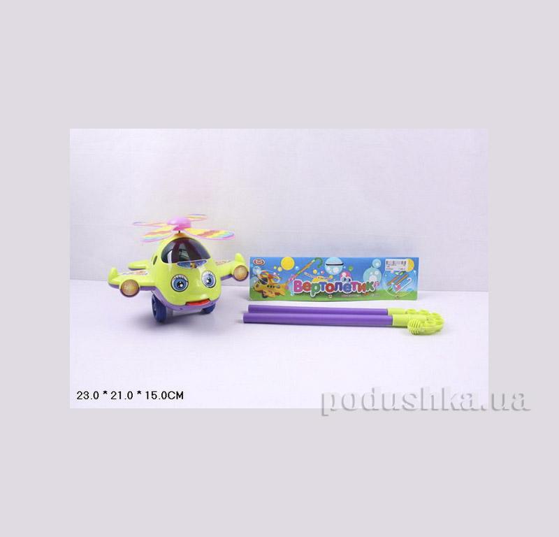 Игрушка каталка вертолет на палке Jambo 1189