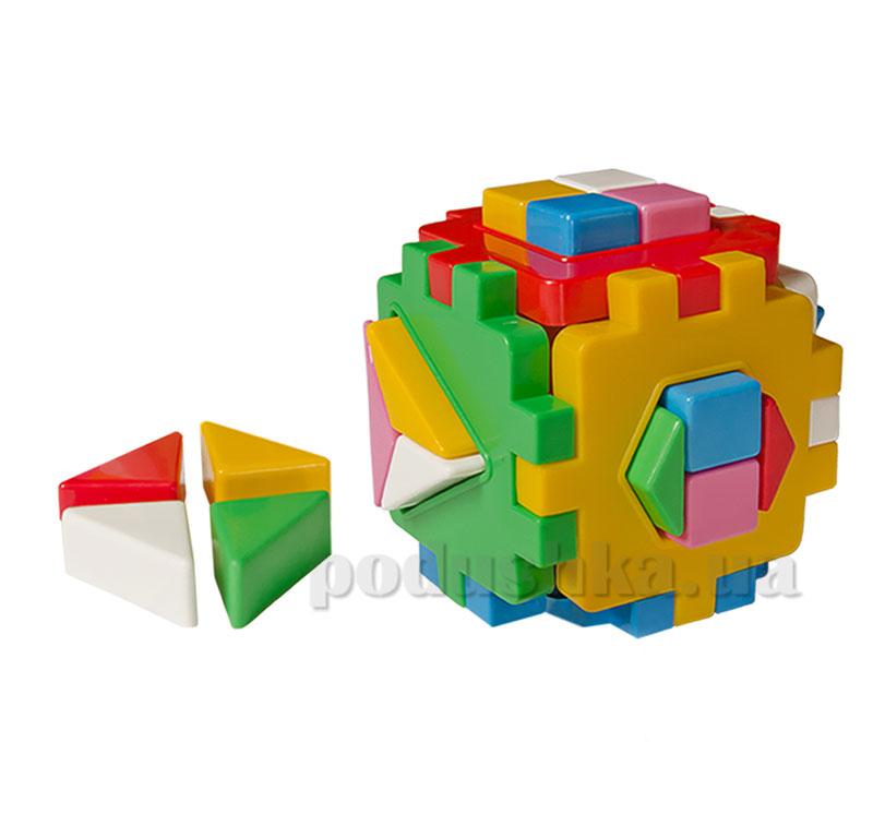 Игрушка куб умный малыш логика 2 Технок 35-1-0402