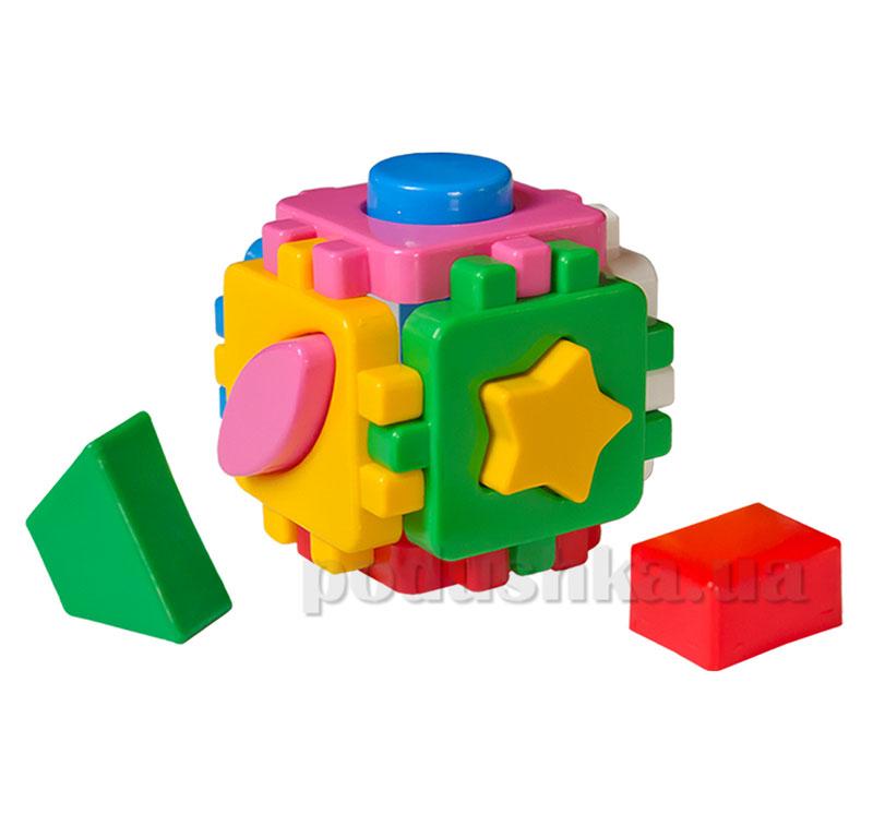 Игрушка куб умный малыш мини Технок КА-35-1-0472