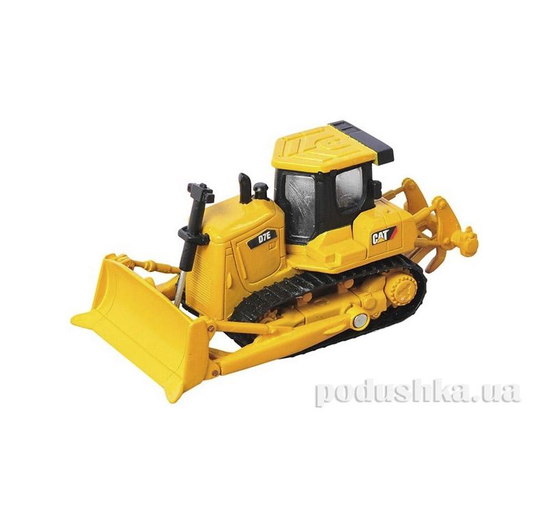 Игрушка Металлический Бульдозер CAT 9 см Toy State 39512