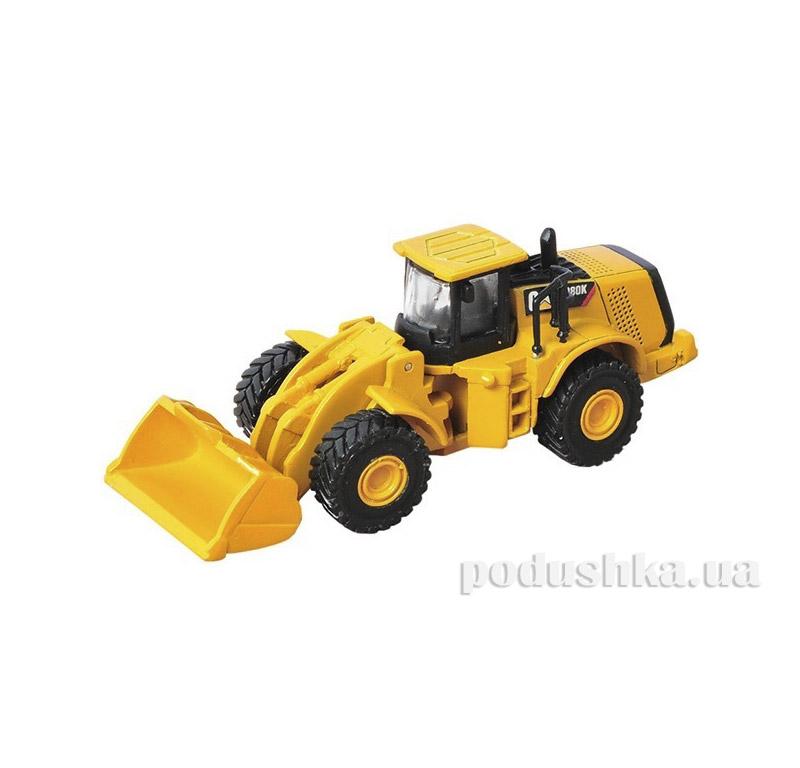 Игрушка Металлический Погрузчик CAT 9 см Toy State 39513
