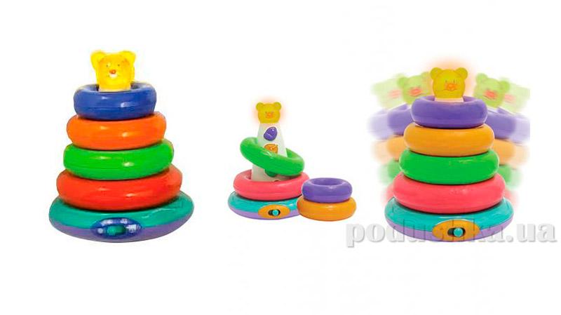 Игрушка музыкальная пирамидка 60092-UN Unimax
