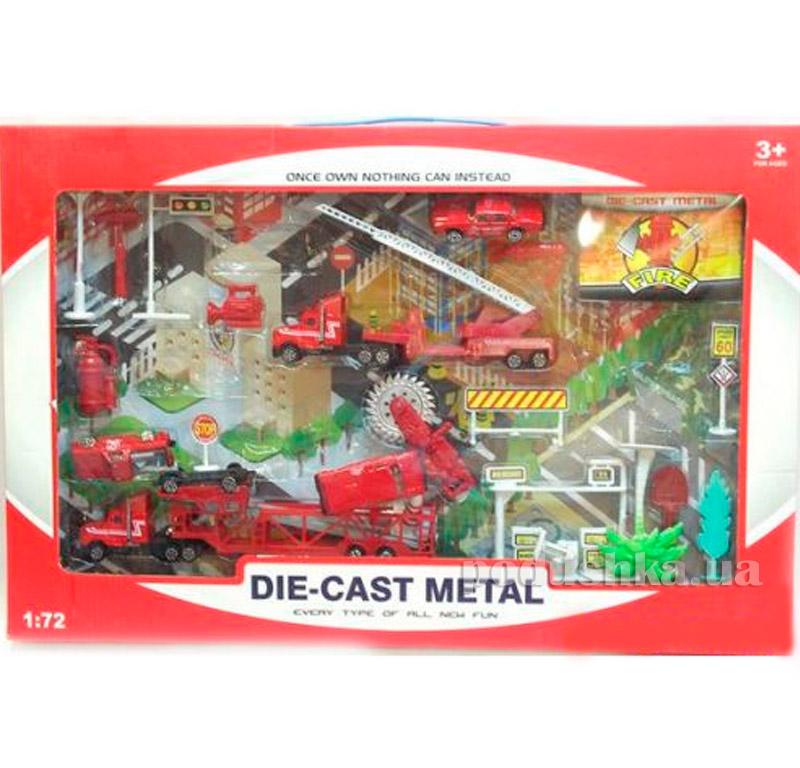 Игрушка Пожарный набор Die-Cast 1:72 486729PFI-DS