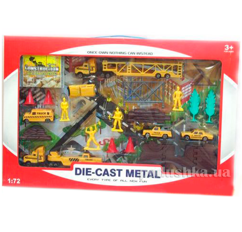 Игрушка Строительный набор Die-Cast 1:72 486730PCS-DS