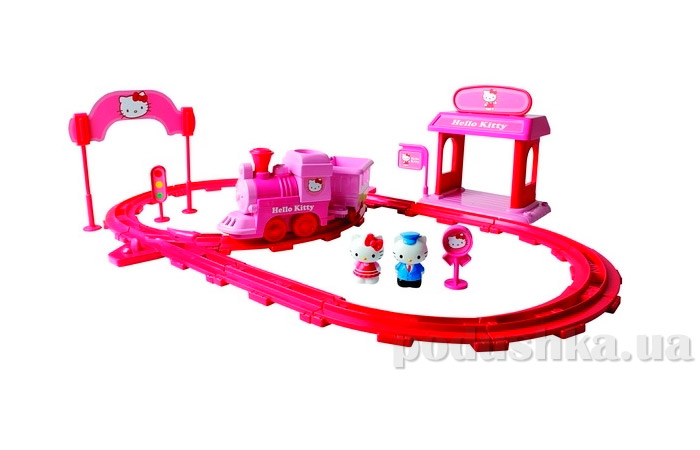 Игрушка железная дорога Hello Kitty 65011-UN Unimax