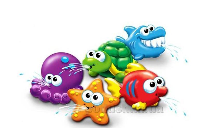 Игрушки-брызгалки Play WOW Морские приятели 3044PW