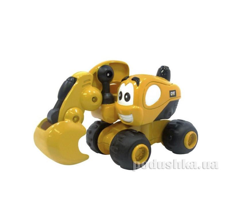 Инерционная техника САТ Экскаватор Дейв Toy State 80404