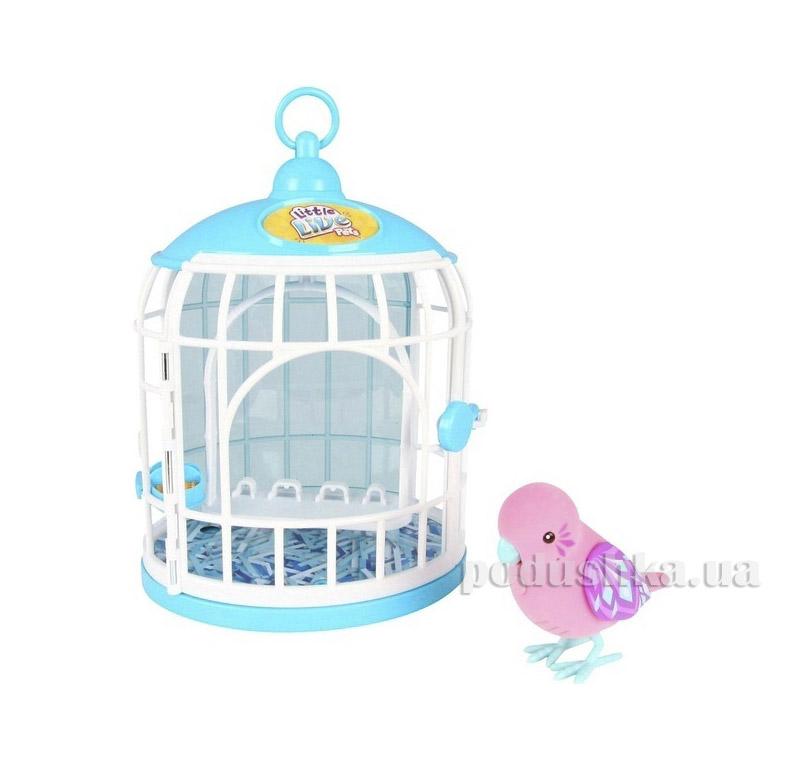 Интерактивная игрушка Little Live Pets Птичка в клетке Крисси Кристал Moose 28093