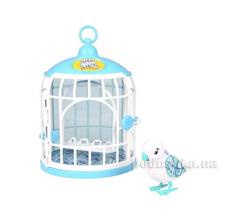 Интерактивная игрушка Little Live Pets Птичка в клетке Певец Семми Moose 28094