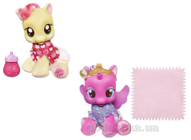 Интерактивная игрушка MLP Малышка Эпл Спраут и Скайла Hasbro 27858