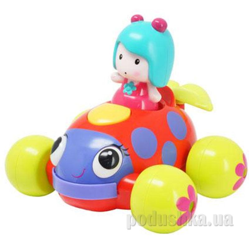 Интерактивная игрушка Музыкальная машинка Мими озвучена свет 61126 Ouaps