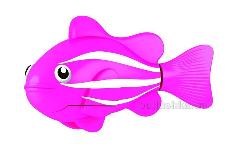 Интерактивная игрушка RoboFish - Рыба-Клоун розовая