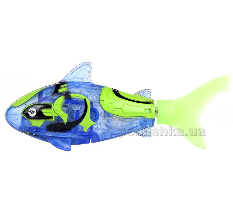 Интерактивная игрушка РобоРыбка - Рыба-Акула голубая