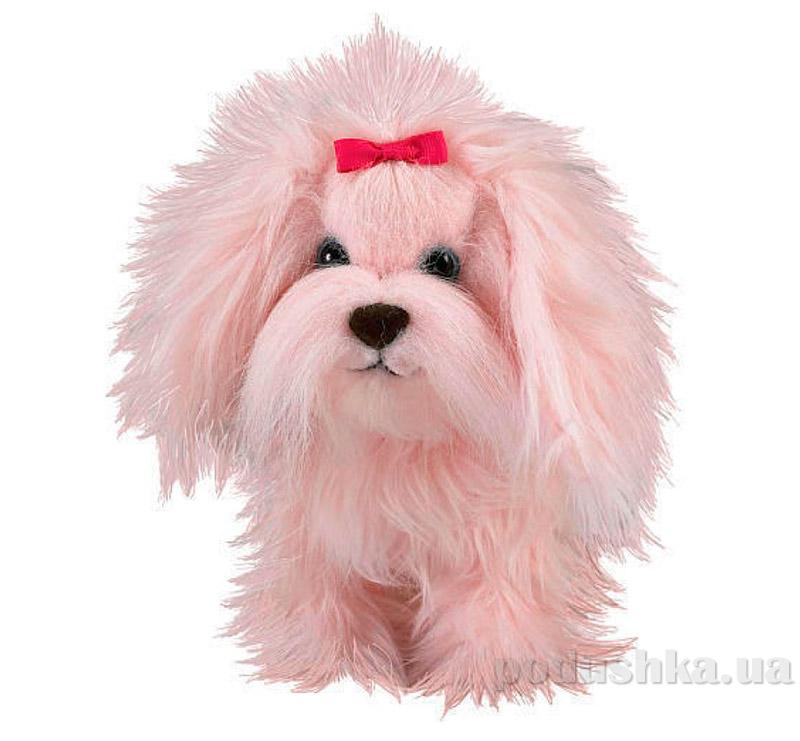 Интерактивная игрушка Щенок Пушистик розовый 30783 AniMagic