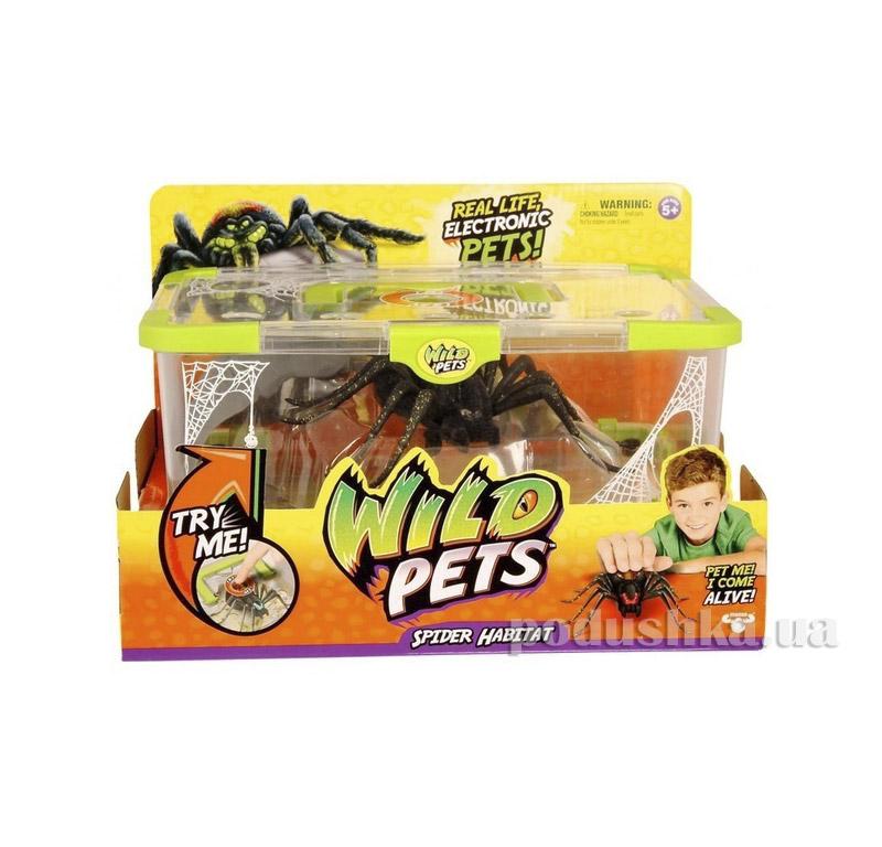 Интерактивная игрушка Wild Pets Логово паука и его житель Moose 29002