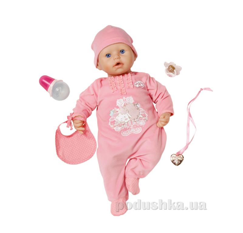 Интерактивная кукла Baby Annabell настоящая малютка (с аксессуарами, озвучена) 792810