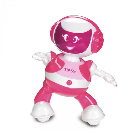 Интерактивный робот Tosy DiscoRobo Руби танцует укр озвучка розовый TDV103-U 8930006492825