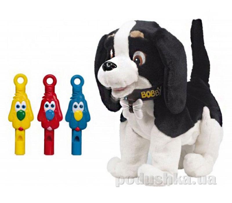 Интерактивный щенок Bobby со свистками Giochi Preziosi