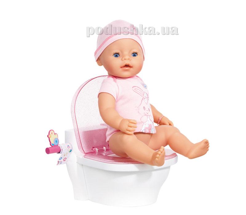 Интерактивный унитазик для куклы Baby Born Первый Горшочек (звук) Zapf 817674