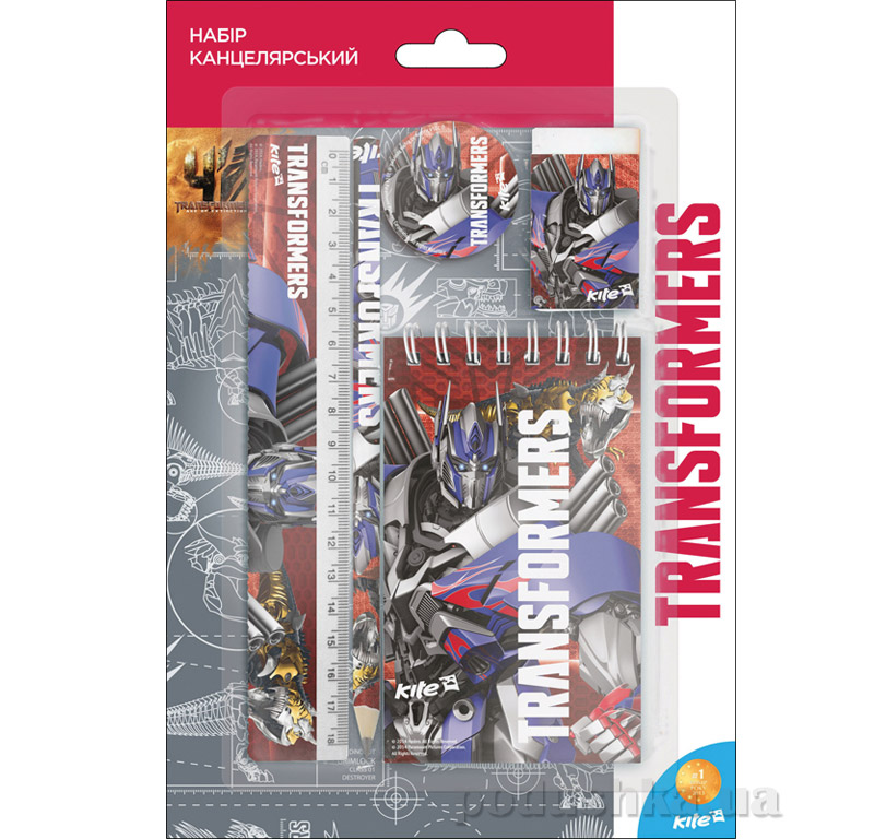 Канцелярский набор для детей Kite Transformers TF15-147К