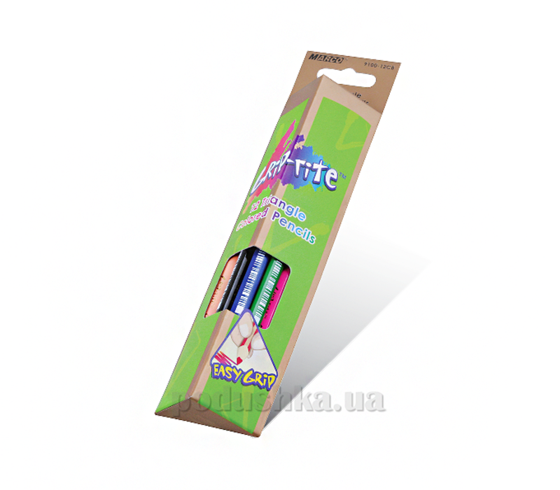 Карандаши цветные Marco Grip-Rite 12 цветов