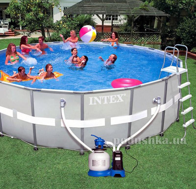 Каркасный бассейн 28334 Ultra Frame Pool Intex