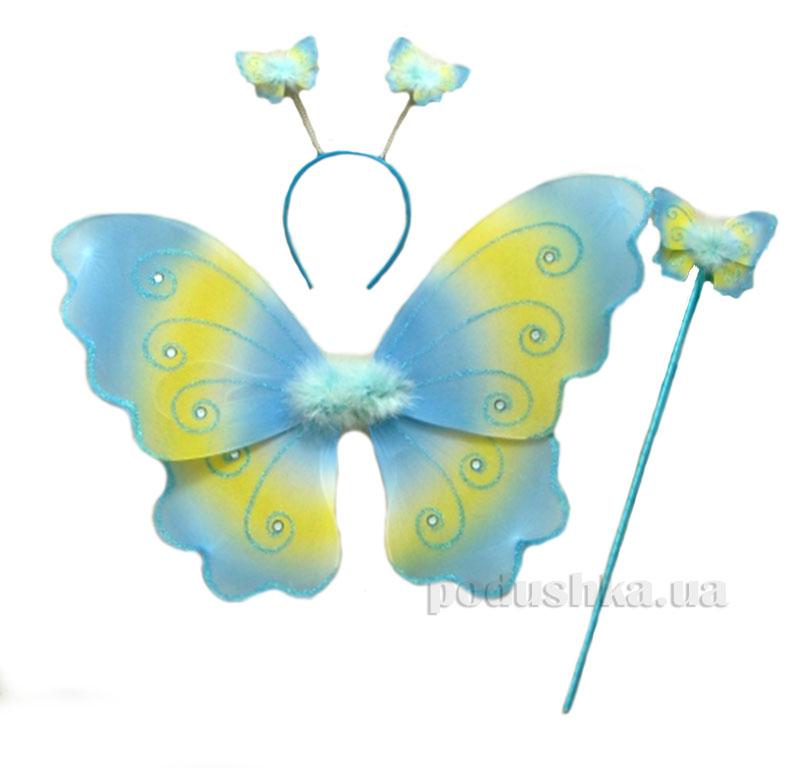Карнавальный детский костюм Фея Devik Play Joy голубой WB01640B-1-2-3
