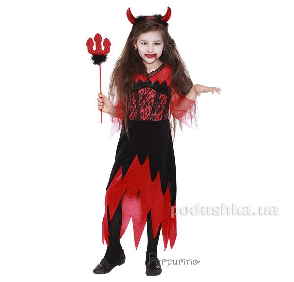 Карнавальный костюм Дьяволица Purpurino 2074