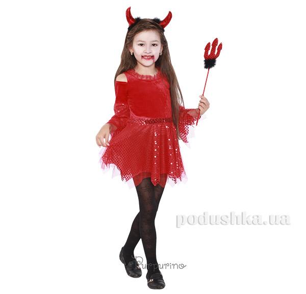 Карнавальный костюм Дьяволица Purpurino 2075