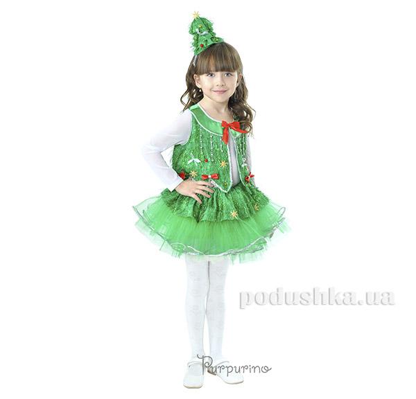 Карнавальный костюм Елочка Purpurin 2030