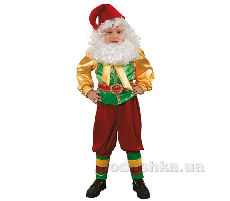 Карнавальный костюм Гном 345 Витус