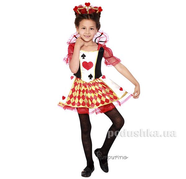 Карнавальный костюм Королева карт Purpurino 2066