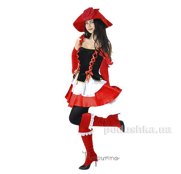 Карнавальный костюм Красная шапочка Purpurin 2035